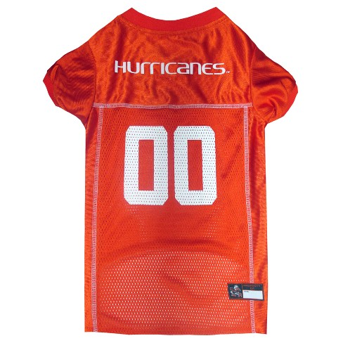 NCAA Pets First Miami Hurricanes Pink Jersey - L - image 1 of 2