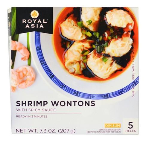 Royal Asia Spicy Shrimp Wonton Dim Sum - 7.3oz - image 1 of 2