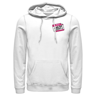 Men's Fortnite Cuddle Name Tag Pull Over Hoodie