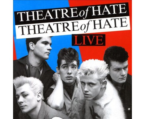 Theatre Of Hate - Live (CD) - image 1 of 1