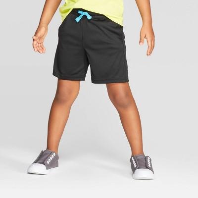 Toddler Boys' Interlock Athletic Shorts - Cat & Jack™ Black 3T