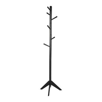 Contemporary Style Hall Tree Coat Rack - Benzara