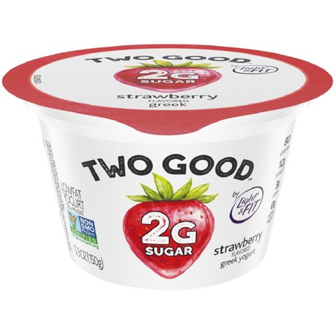 Two Good Strawberry Greek Style Yogurt - 5.3oz - image 1 of 2