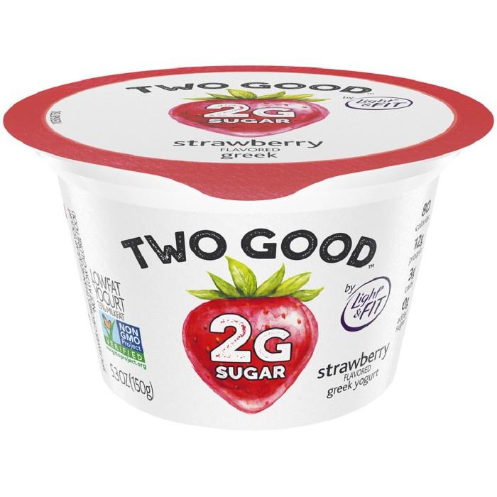 Two Good Strawberry Greek Style Yogurt - 5.3oz - image 1 of 2