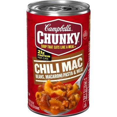 Campbell's Chunky Chili Mac Soup - 18.8oz
