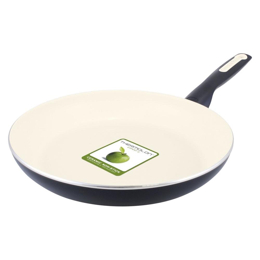 """Image of """"GreenPan Rio 12"""""""" Ceramic Non-Stick Frying Pan Black"""""""