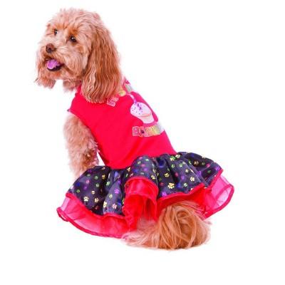 Rubies Happy Barkday Tutu Dress Pet Costume