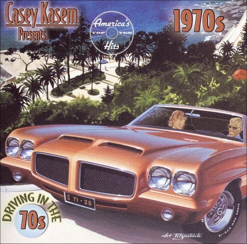 Various - Casey kasem presents:Driving in 70s (CD) - image 1 of 1