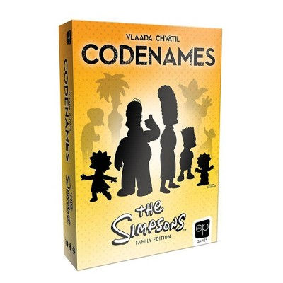 Codenames: The Simpsons Board Game