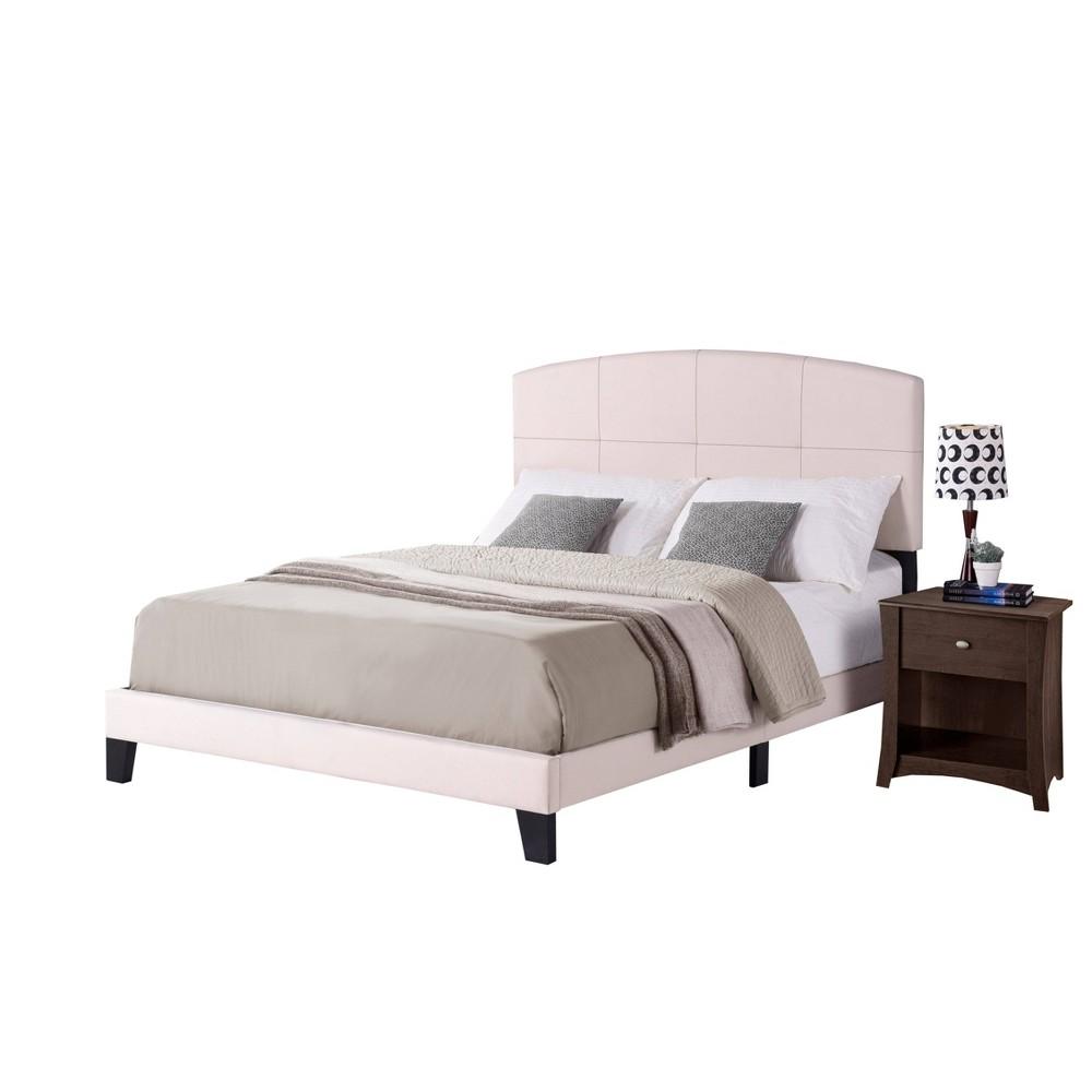 Queen Southport Bed In One Ecru (White) - Hillsdale Furniture