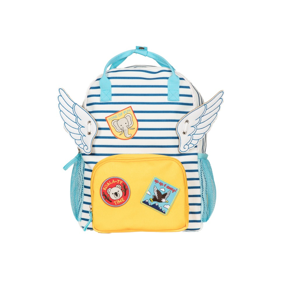 "Image of ""Love Taza 14"""" Kids' Backpack & Flair, Kids Unisex, MultiColored"""