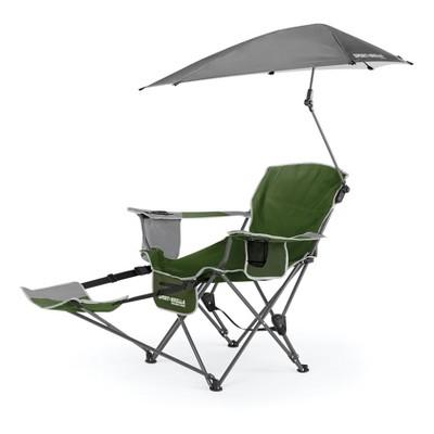 SportBrella Recliner Chair - Moss Green