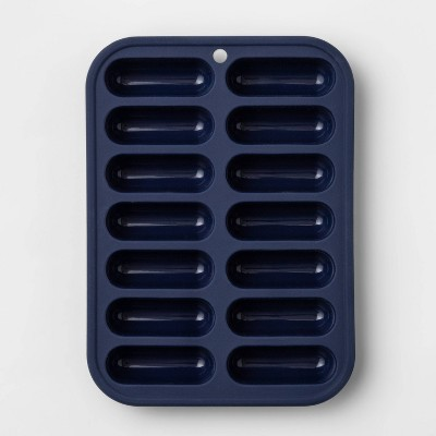 Silicone Ice Cube Tray Blue - Room Essentials™