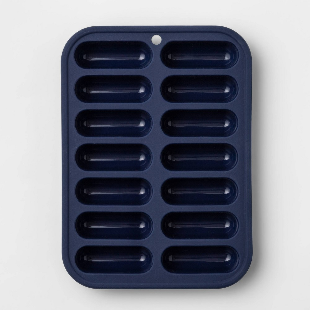 Image of Silicone Ice Cube Tray Blue - Room Essentials