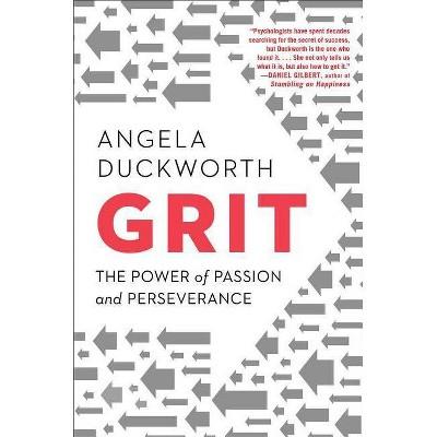 Grit (Angela Duckworth) - by Angela Duckworth (Hardcover)