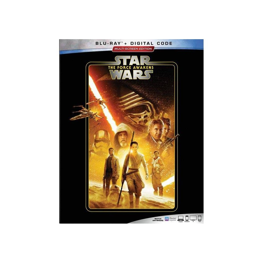 Star Wars The Force Awakens Blu Ray Digital