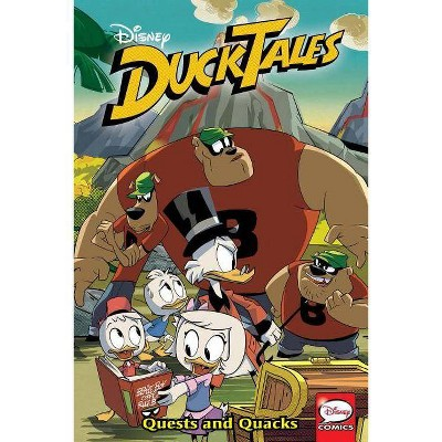 Ducktales: Quests and Quacks - (Duck Tales) by  Joe Caramagna & Joey Cavalieri (Paperback)
