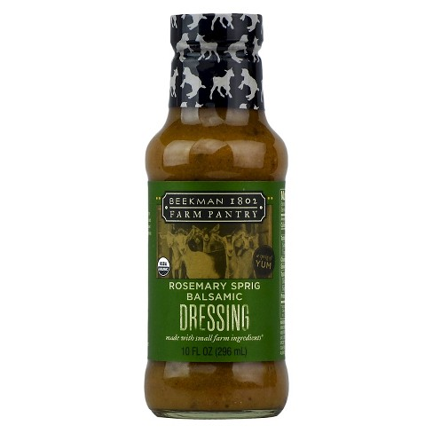 Beekman 1802 Farm Pantry Rosemary Sprig Balsamic Dressing - 10oz - image 1 of 1
