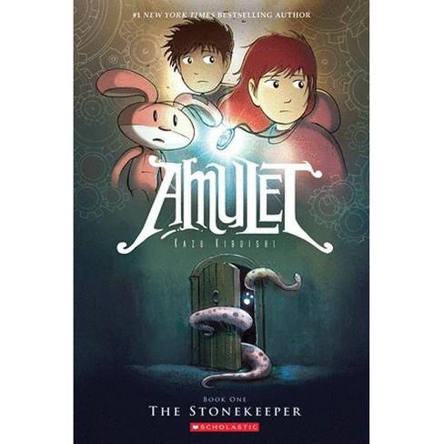 The Stonekeeper - (Amulet) by  Kazu Kibuishi (Hardcover) - image 1 of 1