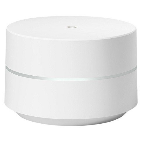 Google Wifi System (Single WiFi Point) Router Replacement For Whole Home Coverage - White - image 1 of 5