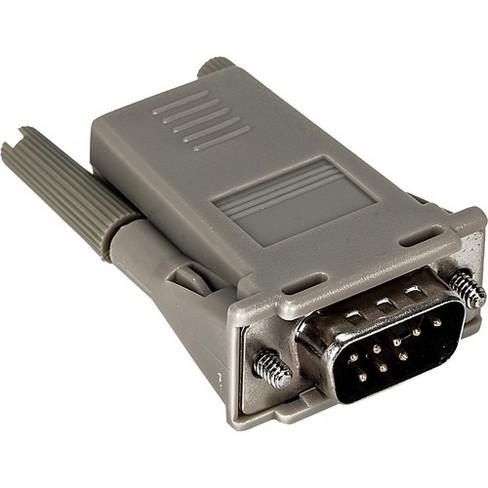 Vertiv Avocent RJ45 to DB9M Crossover Adapter - RJ45 to DB9M cross converter - image 1 of 2