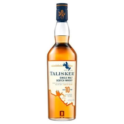 Talisker 10yr Single Malt Scotch Whisky - 750ml Bottle