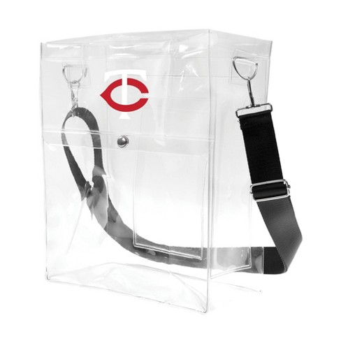 MLB Minnesota Twins Clear Ticket Satchel - image 1 of 4