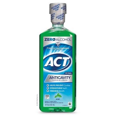Act Mint Fluoride Rinse - 18 fl oz