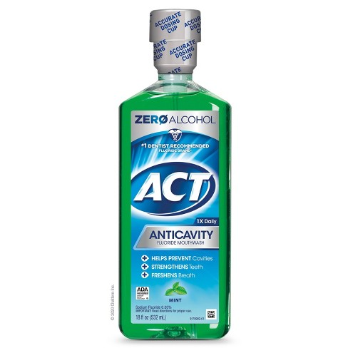 Act Mint Fluoride Rinse - 18 fl oz - image 1 of 4