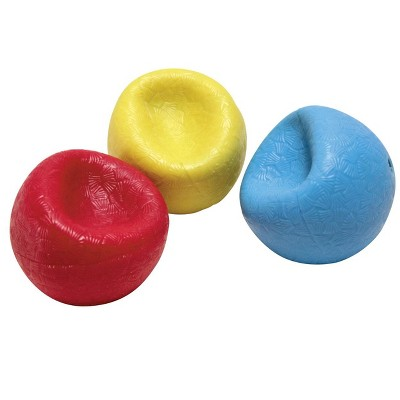 Abilitations Weighted Textured Balls, Assorted Colors, set of 3