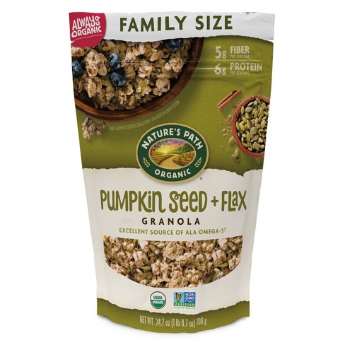 Nature's Path Pumpkin Seed + Flax Granola – 24.7oz - image 1 of 2