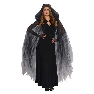 Dark Temptress Cape Halloween Costume