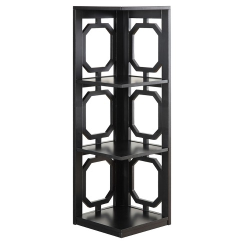 Omega 3 Tier Corner Bookcase 385