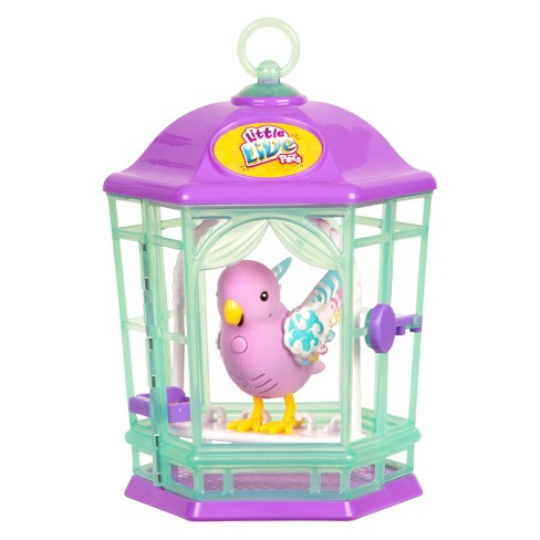 Little Live Light Up Song Bird in Cage - Rainbows - image 1 of 4