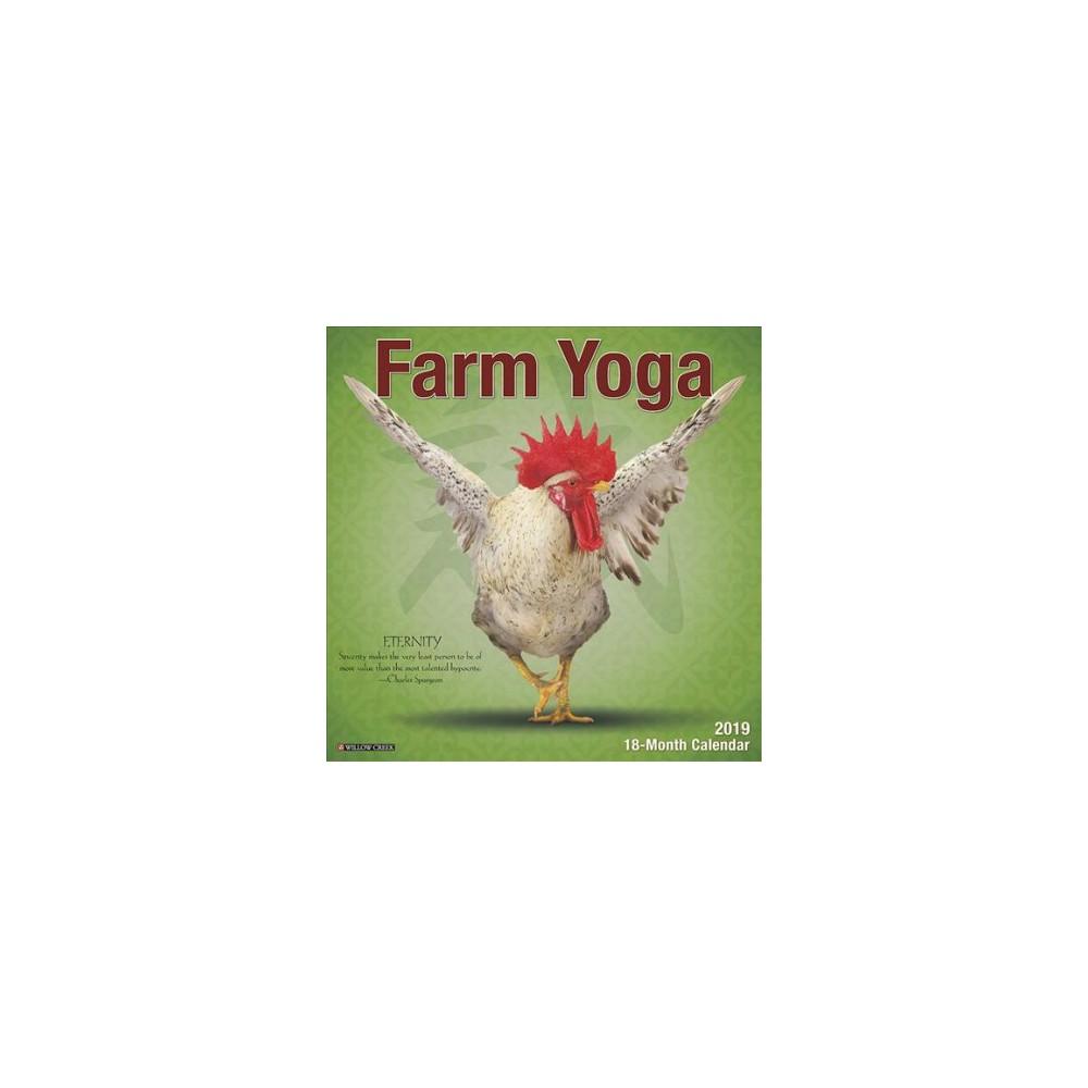 Farm Yoga 2019 Calendar - (Paperback)