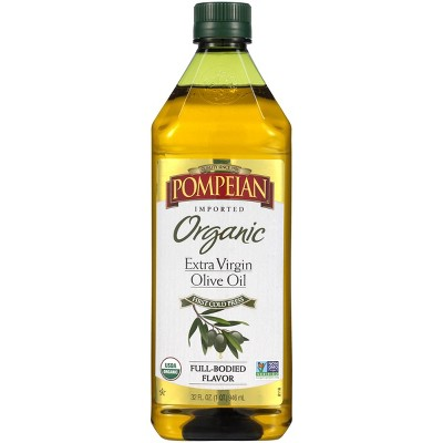 Olive Oil: Pompeian Organic Extra Virgin Olive Oil