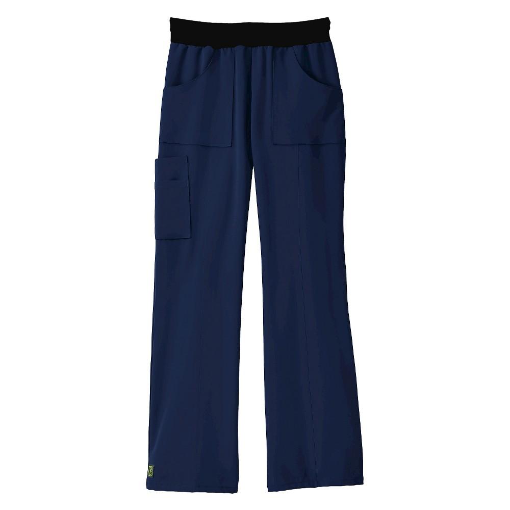 Female Scrub Pants Ave XL Navy (Blue)