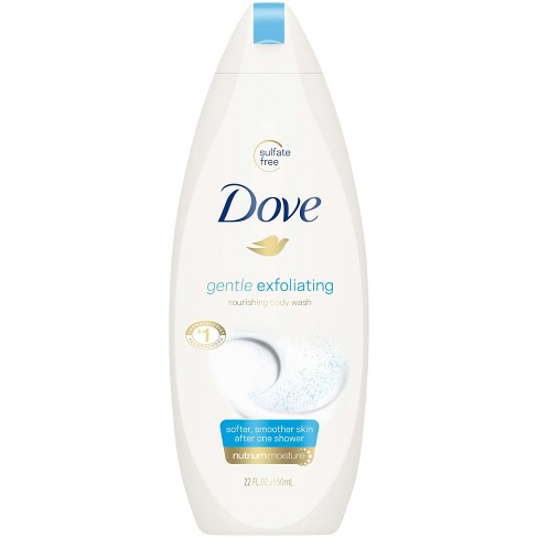 Dove Gentle Exfoliating Body Wash 22 Oz Target