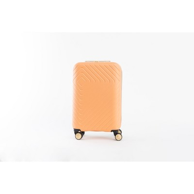 Jungalow by Justina Blakeney 20  Hardside Carry On Suitcase - Orange