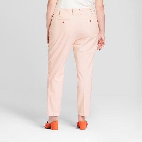 2a5aa65dba2 Women s Plus Size Boyfriend Chino Pants - Ava   Viv™   Target
