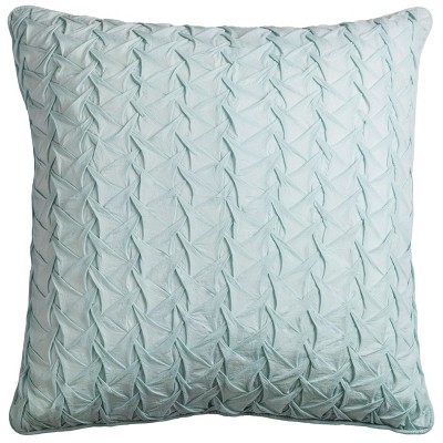 Rizzy Home Textured Solid Throw Pillow Mint