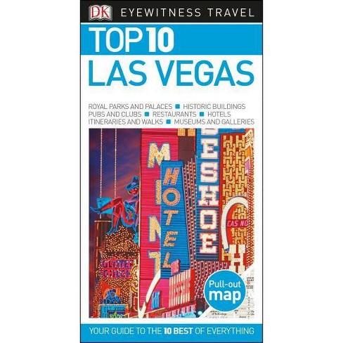 DK Eyewitness Top 10 Las Vegas - (Pocket Travel Guide) (Paperback) - image 1 of 1