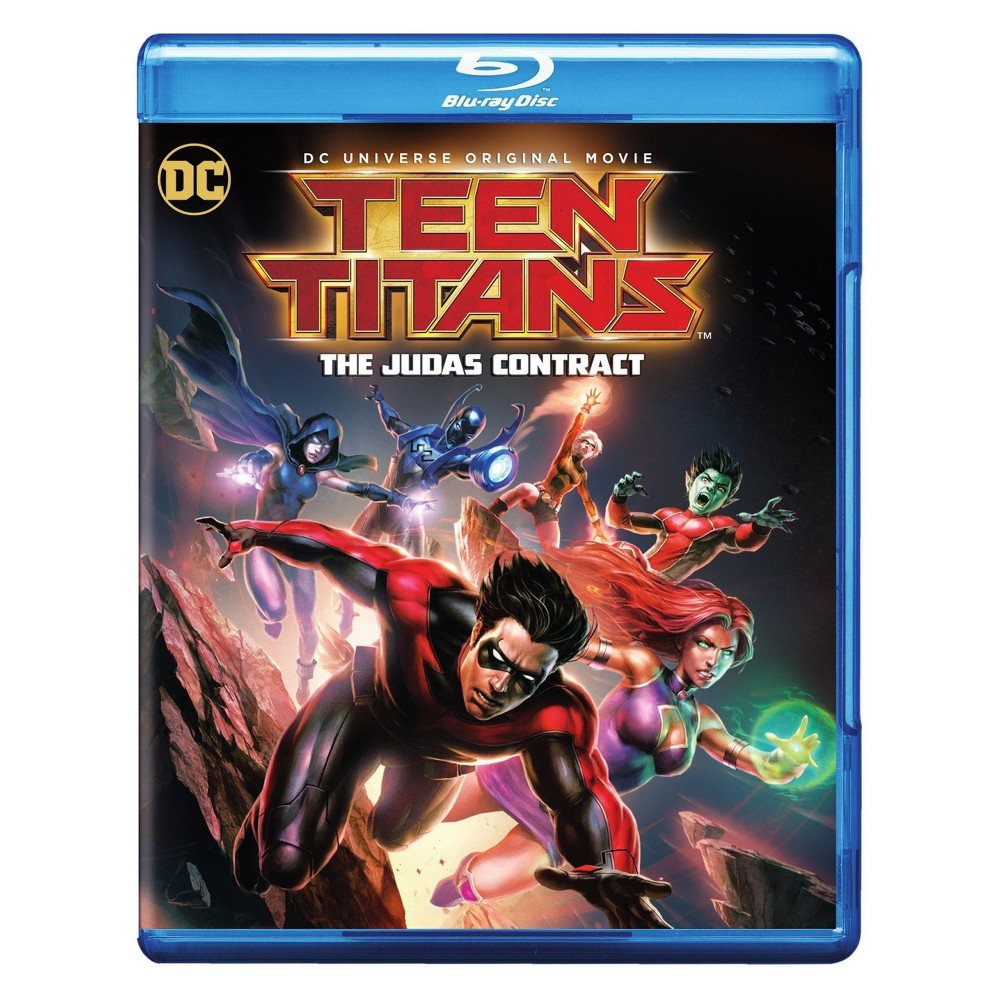 Teen Titans: The Judas Contract (Blu-ray + Dvd + Digital)