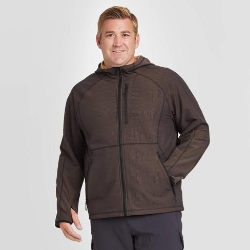 Men's Woven Fleece Jacket - All in Motion™ - image 1 of 2
