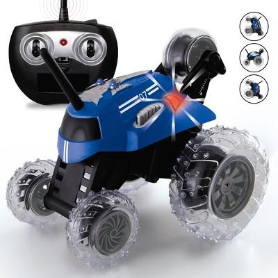 Sharper Image  RC Monster Spinning Car - Blue
