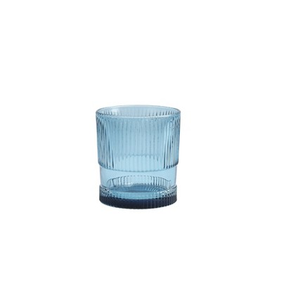 9oz Glass Noho Double Old Fashion Glass Blue - Fortessa Tableware Solutions