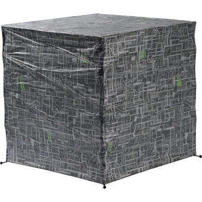 Robe Factory LLC Star Trek Borg Cube 18 Inch Paper Lantern Floor Lamp