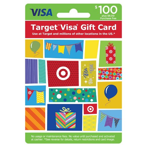 Visa Gift Card - $100 + $6 Fee - image 1 of 1