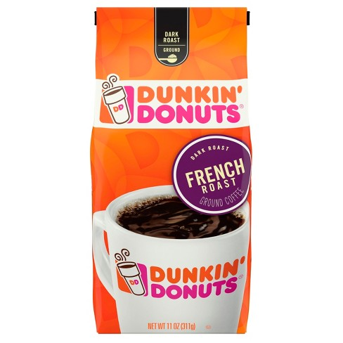 Dunkin Donuts® French Dark Roast Ground Coffee - 11oz - image 1 of 1