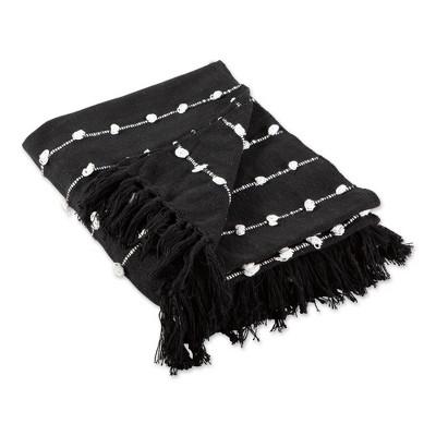 "50""x60"" Woven Loop Throw Blanket - Design Imports"